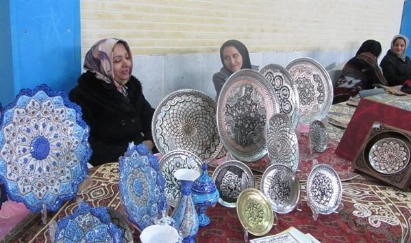نمایشگاه صنایع دستی چهارمحال و بختیاری گشایش یافت