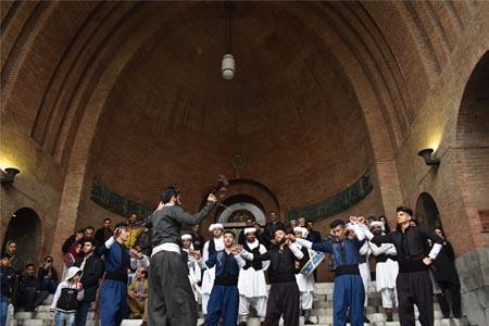 میزبانی متفاوت موزه ملی ایران از بازدیدکنندگان در پنجمین روز از بهار 1398