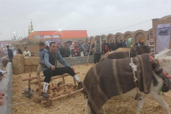 احیای سنت های قدیمی شهرستان سرایان به مناسبت نوروز