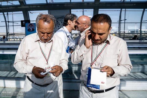 حجاج ایرانی 3 میلیون و 352 هزار دقیقه مکالمه داشتند