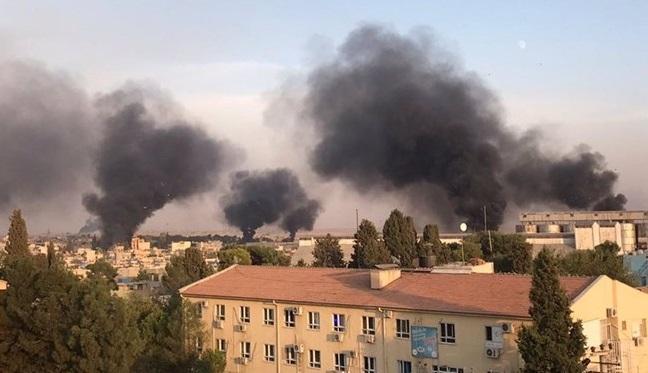 حمله تلافی جویانه اکراد سوریه به قصیبین در ترکیه