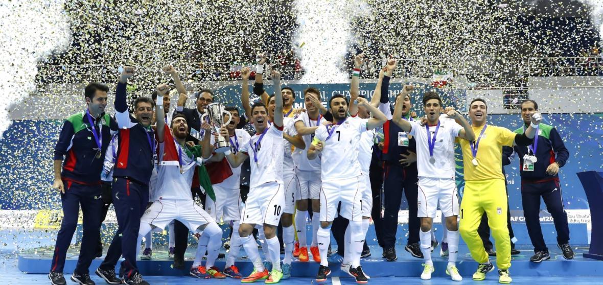 جدیدترین رنکینگ جهانی فوتسال، تیم ملی ایران همچنان بر بام آسیا