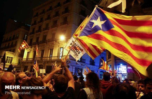 مخالفت دولت اسپانیا با درخواست مقامات کاتالونیا برای مذاکره
