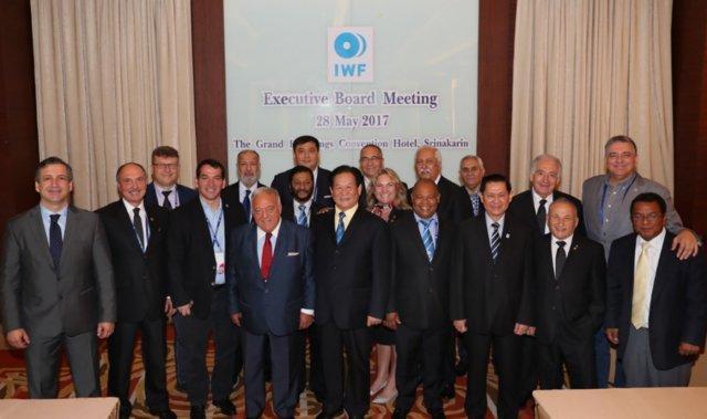 انتخاب مجدد آیان به عنوان رییس فدراسیون جهانی وزنه برداری