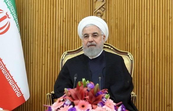 روحانی: صندلی ایران بین کشور ها و ملت های دنیا روز به روز ارتقا می یابد