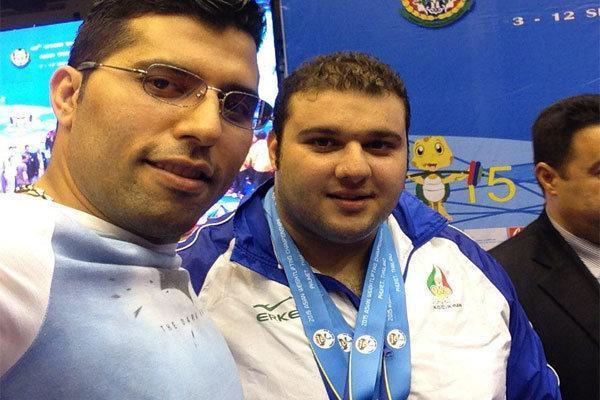 وزنه بردار ایران به مدال نقره آسیا دست پیدا کرد