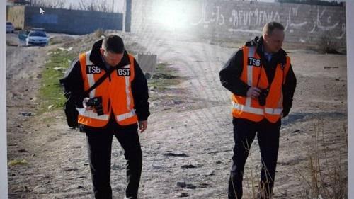 نمایندگان کانادا از محل سقوط 737 بازدید کردند