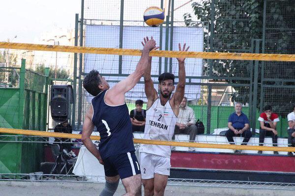 صعود سه تیم ایران به مرحله حذفی والیبال ساحلی آسیا