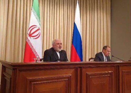 کنفرانس خبری ظریف و لاوروف؛ از شرایط ادلب تا مانور نظامی