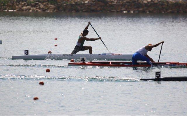 ملی پوش کانو: با یک پارو و قایق 10ساله تمرین می کنیم، رقیب اصلی ام چین است