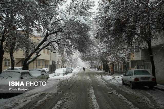 بارش برف و باران در بعضی مناطق کشور
