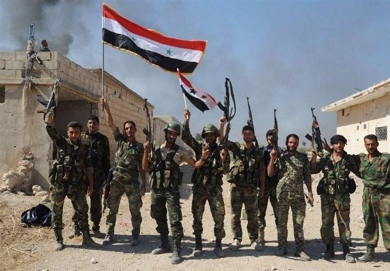 ورود ارتش سوریه به شهر راهبری معره النعمان در ادلب