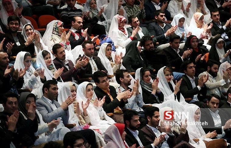 ثبت نام بیش از 17 هزار زوج دانشجو در بیست و سومین ازدواج دانشجویی تا به امروز ، اعزام ها به مشهد تا 26 اسفند ادامه دارد
