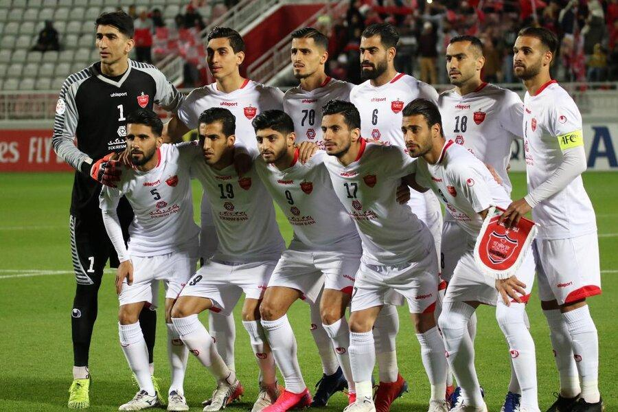 پیروزی 8 گله پرسپولیس در قطر ، گلزنی اساگونا و دبل استوکس