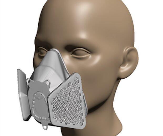 با پرینتر سه بعدی در خانه ماسک پزشکی بسازید