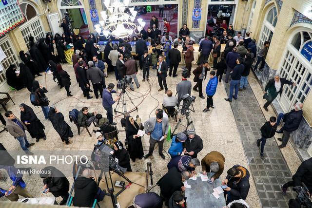 بسته شدن در شعب و شروع شمارش آرای تهران