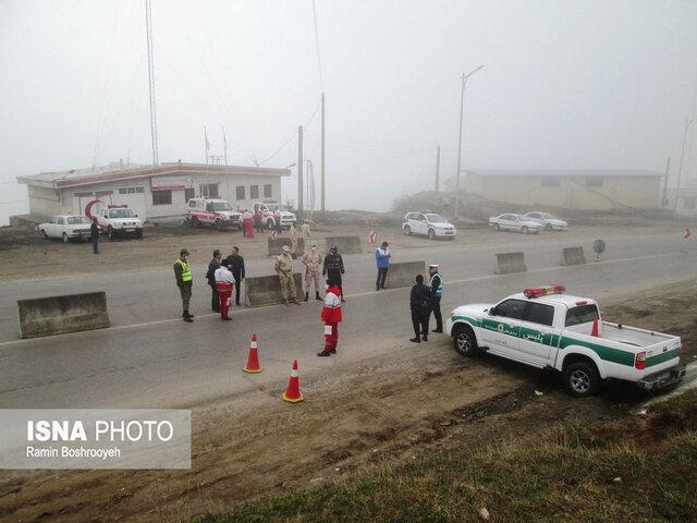 مسدود شدن جاده آستارا - اردبیل