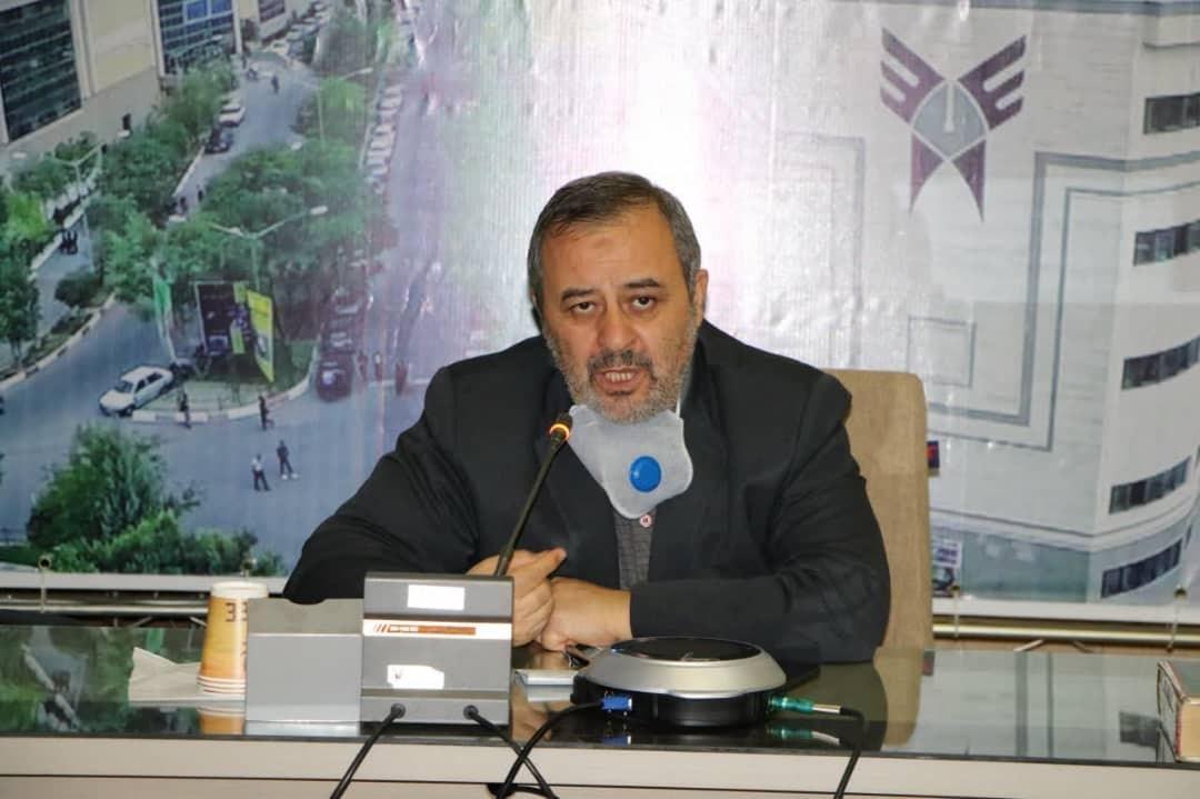 بخشی از دروس در دانشگاه آزاد آذربایجان شرقی به صورت حضوری برگزار می شود