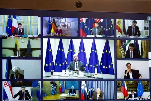 اتحادیه اروپا برای مقابله با کرونا 540 میلیارد یورو هزینه می نماید