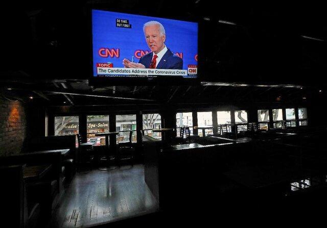بایدن، ترامپ را به حمله تمام عیار علیه رسانه ها متهم کرد