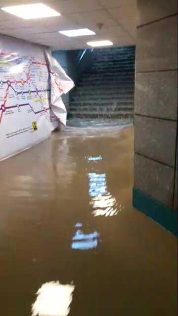 توضیحات مدیرعامل متروی تهران در خصوص فیلم ورود آب به مترو