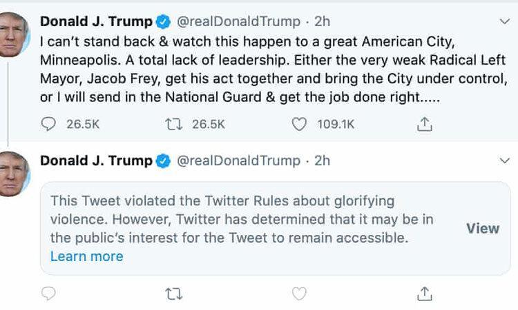 تک ترامپ و پاتک توییتر ، صدور فرمان اجرایی برای محدود کردن شبکه های اجتماعی