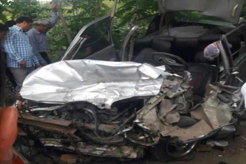 خبرنگاران تصادف رانندگی در تالش سبب مرگ 2 نفر شد