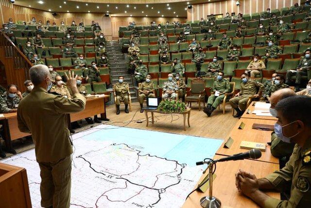رزمایش تاکتیکی ذوالفقار در دانشگاه فرماندهی و ستاد ارتش برگزار گردید