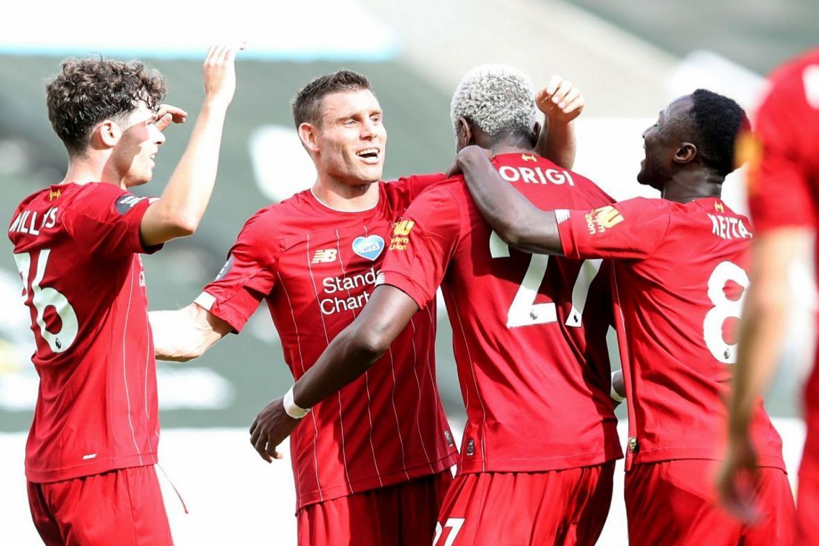 نیوکاسل 1-3 لیورپول؛ خاتمه خوش لیگ برتر برای قهرمان