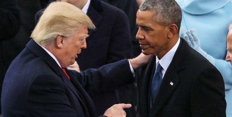 اوباما از ترامپ انتقاد کرد