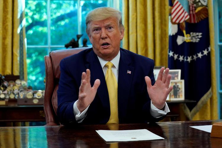 ترامپ: تهران منتظر پیروزی بایدن است