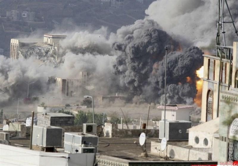 بمباران 3 استان یمن توسط جنگنده های متجاوز ائتلاف سعودی