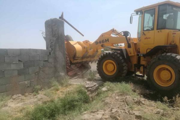 150 هزار مترمربع از اراضی کشاورزی پاکدشت آزاد شد ، تخریب 100 مورد ساخت و ساز غیرمجاز