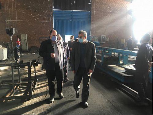 معاون مدیرعامل بانک توسعه تعاون از 6 طرح مالی کرمان بازدید کرد