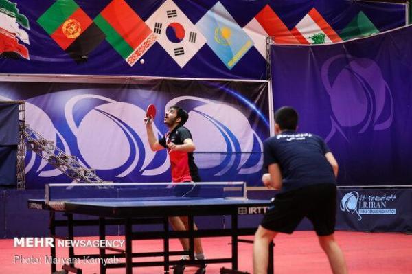 تنیس روی میز ایران در انتظار تقویم آسیا برای کسب سهمیه المپیک