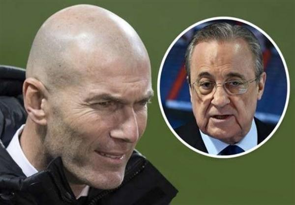 حمایت هیئت مدیره رئال مادرید از زیدان