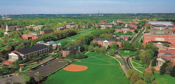 برنامه های تحصیلات تکمیلی دانشگاه مریلند در کالج پارک