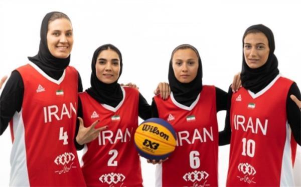 بسکتبال زنان ایران آماده حضور در المپیک شد
