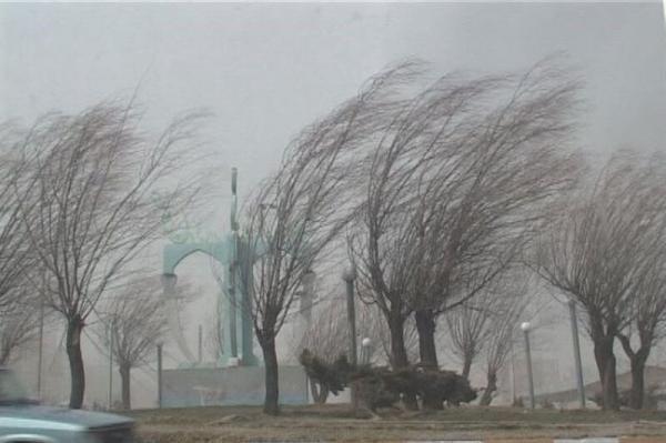 خبرنگاران وزش باد شدید چهارمحال و بختیاری را فرا می گیرد
