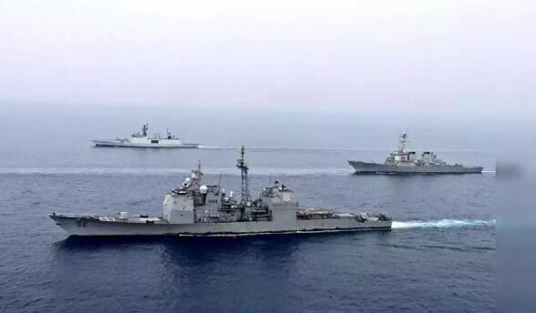 خبرنگاران نگرانی دهلی از عبور کشتی آمریکا از منطقه انحصاری هند