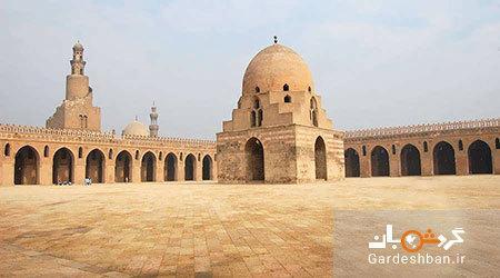 مسجد ابن طولون؛ یکی از آثار تاریخی معروف قاهره، عکس
