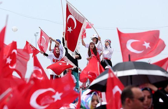 تظاهرات علیه آمریکا در ترکیه با درخواست تخلیه پایگاه اینجرلیک