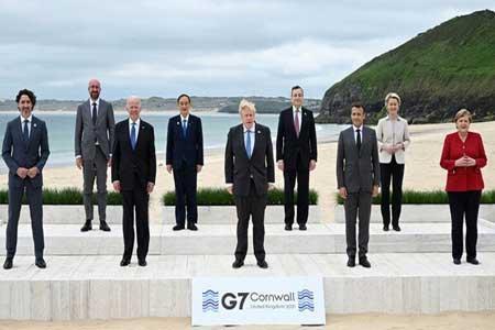 گروه 7 از احیای برجام حمایت کرد ، دیدگاه سران درباره چین و روسیه