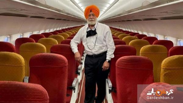 تنها مسافر پرواز هلند به امارات