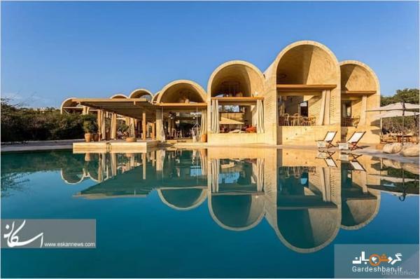 تور مکزیک: هتل بوتیک مکزیکی که از مصالح محلی ساخته شده است