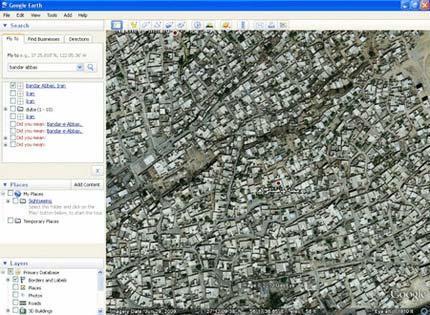 تفاوت دبی و بندر عباس از نگاه گوگل