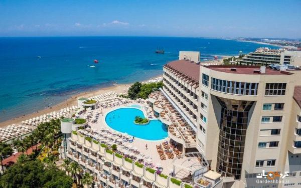ملاس لارا ؛ هتلی پنج ستاره و شیک در چند قدمی ساحل آنتالیا