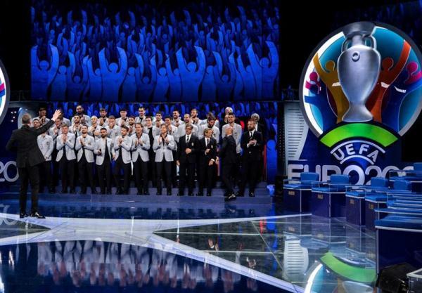 اعلام لیست نهایی تیم های ملی ایتالیا و انگلیس برای یورو 2020