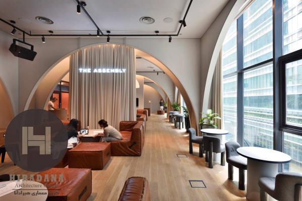 طراحی داخلی دفتر رابینسون در کشور سنگاپور