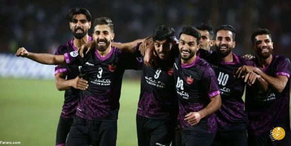 پرسپولیس اولین تیم ایرانی در آسیا
